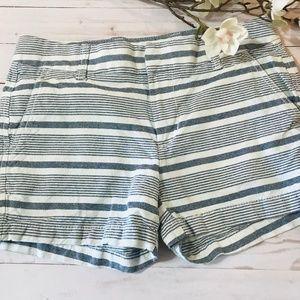 Khakis by Gap Blue and White Stripe Size 2/26